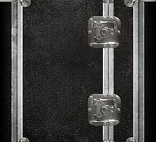 Flightcase (Black) iPad Case by Alisdair Binning