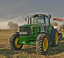 John Deere Tractor by Kate Adams
