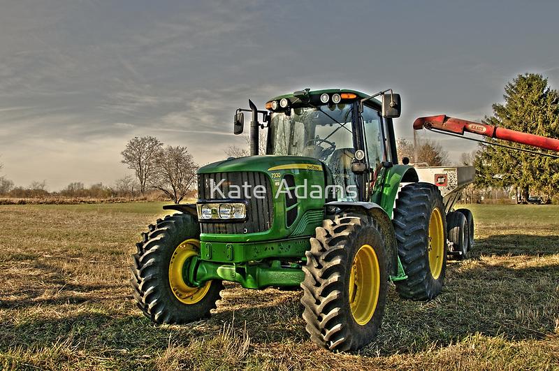 John Deere Tractor by Kate Adams