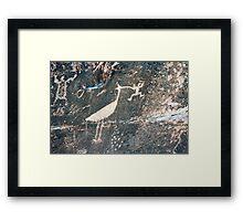 Rio Puerco Petroglyph Framed Print