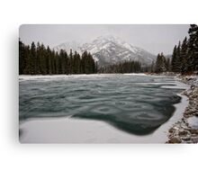 Banff Winter Time Canvas Print