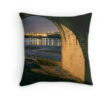 Looking from the shadows  Throw Pillow