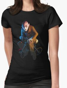 Nosferatu On A Tricycle Womens Fitted T-Shirt