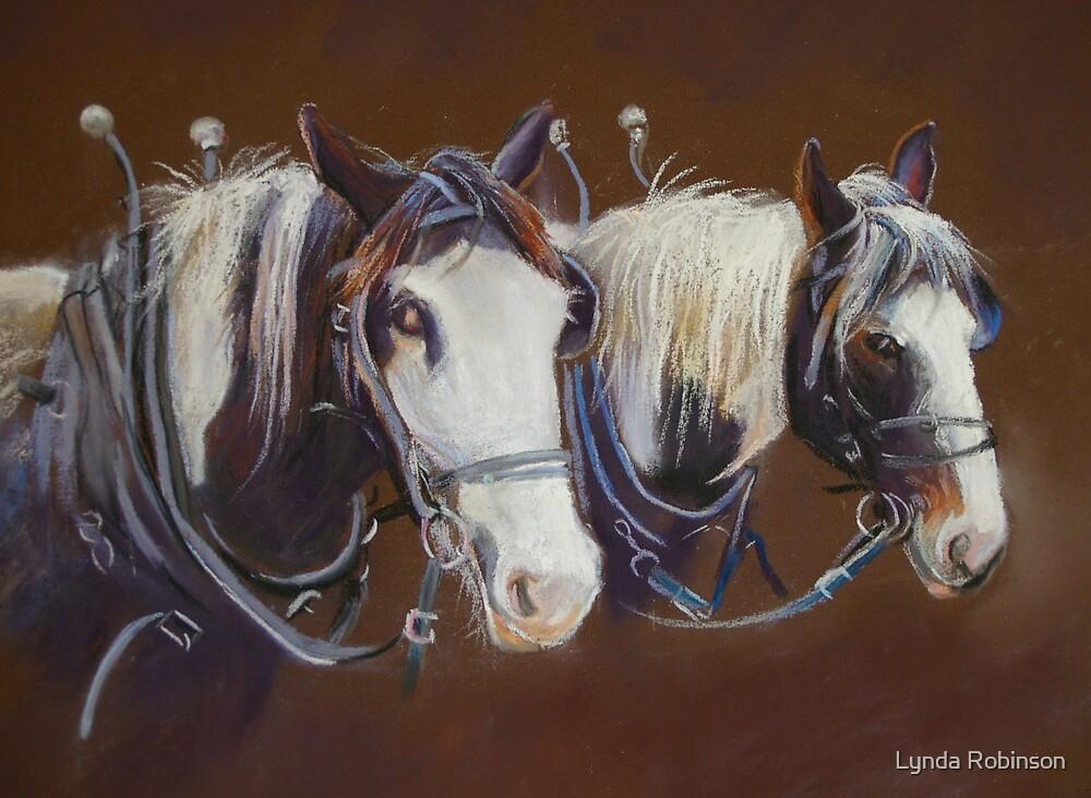 'Working Pair' by Lynda Robinson