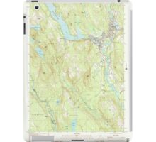 Maine USGS Historical Map Norway 102838 2000 24000 iPad Case/Skin