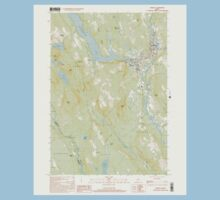 Maine USGS Historical Map Norway 102838 2000 24000 Kids Tee