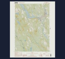 Maine USGS Historical Map Norway 102838 2000 24000 One Piece - Short Sleeve