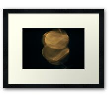 Light Play -  Heads or Tails Framed Print