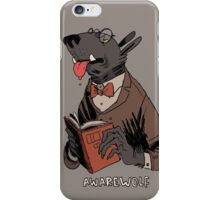 awarewolf iPhone Case/Skin