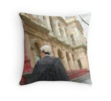 lawyer on the go! Throw Pillow