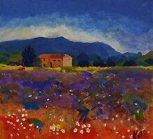 Provence by Andypainting