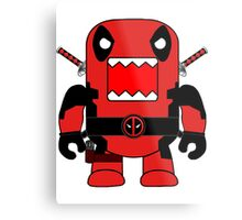 Domo Deadpool Metal Print