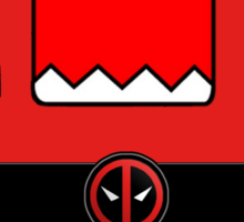 Domo Deadpool Sticker