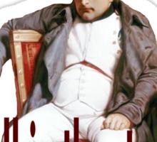 Napoleon: the biggest. Sticker