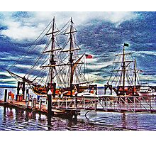 Now and Then Nautical Photographic Print