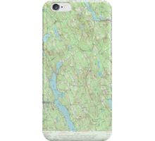 Maine USGS Historical Map Norway 306695 1946 62500 iPhone Case/Skin