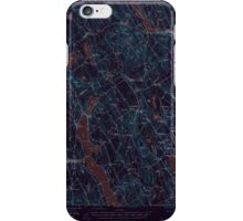 Maine USGS Historical Map Norway 306696 1946 62500 Inversion iPhone Case/Skin
