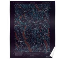 Maine USGS Historical Map Norway 306696 1946 62500 Inversion Poster