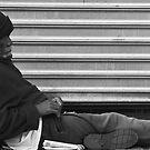 Sad Man by Judith Oppenheimer