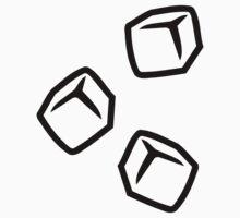 Ice cubes One Piece - Short Sleeve