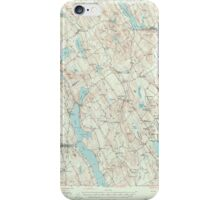 Maine USGS Historical Map Norway 306696 1946 62500 iPhone Case/Skin