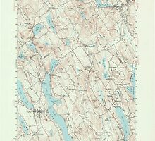 Maine USGS Historical Map Norway 306696 1946 62500 by wetdryvac