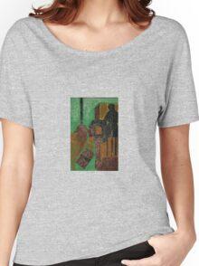 dark doorway Women's Relaxed Fit T-Shirt