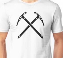 Ice climbing picks axe Unisex T-Shirt