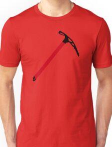 Ice climbing pick axe Unisex T-Shirt