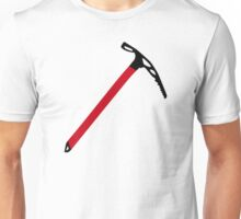 Ice climbing pick axe Unisex T-Shirt