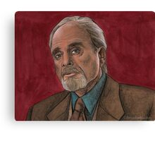 Checkpoint - Quentin Travers - BtVS Canvas Print