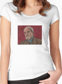 Checkpoint - Quentin Travers - BtVS Women's Fitted Scoop T-Shirt