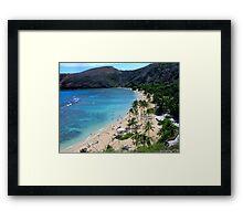 Honolulu(Hawaii) Framed Print