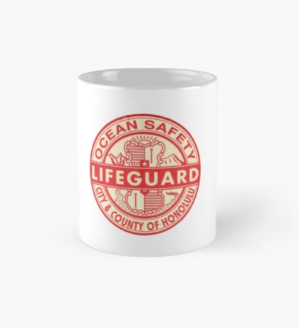 Hawaii Lifeguard Logo Mug