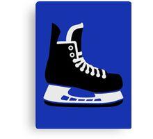 Hockey skate Canvas Print