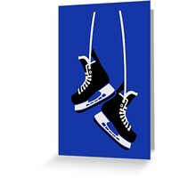 Hockey skates Greeting Card