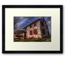 Historic Home near Gring's Mill Recreational Area - Reading, Pennsylvania Framed Print