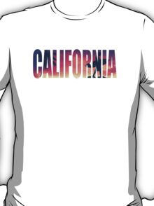 Vintage Filtered California Postcard T-Shirt