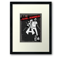 clash at demonhead Framed Print