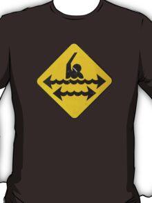 Dangerous Swimming T-Shirt