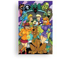 Scooby Doo Gang  Canvas Print