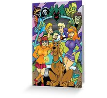 Scooby Doo Gang  Greeting Card