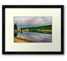 Caledonian Canal Fort Augustus Framed Print