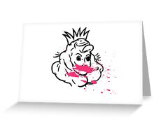 Invisible Monster Greeting Card