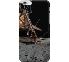Apollo 12 : Amazing Panoramic Picture Taken on the Moons surface iPhone Case/Skin