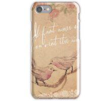 Love Birds & Lace iPhone Case/Skin