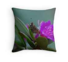 Perfectly Posed... Throw Pillow