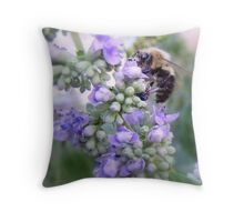 Humble Bumble Throw Pillow