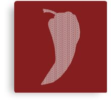 Chili Pepper Subliminal Messaging Canvas Print