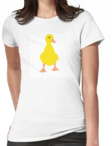 cheeky duckling Womens Fitted T-Shirt